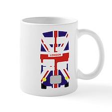 Union Jack London Bus Mug