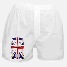Union Jack London Bus Boxer Shorts