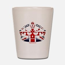 Royal British Crown Shot Glass