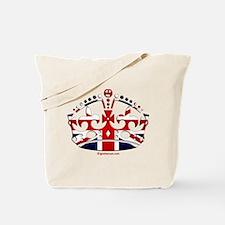 Royal British Crown Tote Bag