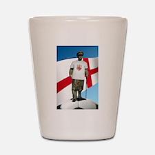 Churchill England Soccer Shot Glass