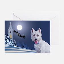 Westie Xmas Card