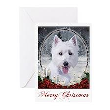 Westie Christmas Cards (Pk of 10)