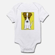 """Jack Russell Terrier"" Infant Creeper"
