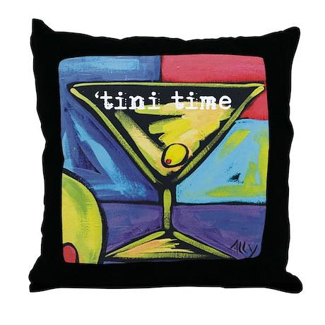 'Tini Time Throw Pillow