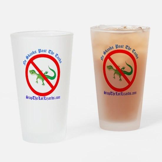 Logo Main Drinking Glass