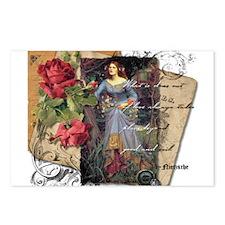 Renaissance Romance Postcards (Package of 8)