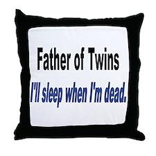Sleep When Im Dead.PNG Throw Pillow