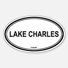 Lake Charles (Louisiana) Oval Decal