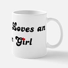 Loves Abadan Girl Mug
