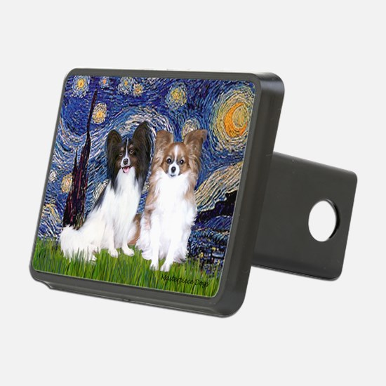 Starry / 2 Papillons Hitch Cover
