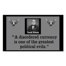 Disordered Currency Decal