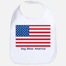 Dog Bless America! Bib