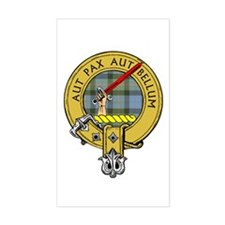 Clan Gunn Rectangle Decal