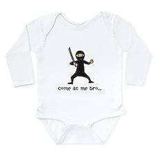 Ninja Long Sleeve Infant Bodysuit