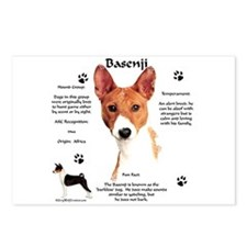 Basenji 1 Postcards (Package of 8)