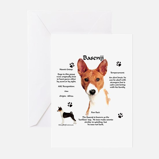 Basenji 1 Greeting Cards (Pk of 10)