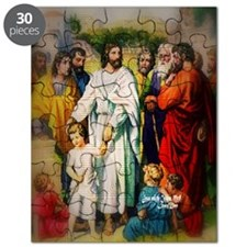 Bless the Children Matthew 18 Mosaic Puzzle