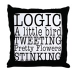 LOGIC Throw Pillow
