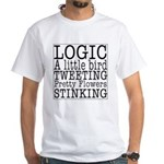 LOGIC White T-Shirt