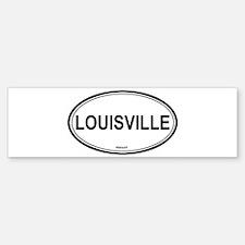 Louisville (Kentucky) Bumper Bumper Bumper Sticker