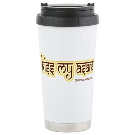 www.YogaGlam.com Stainless Steel Travel Mug