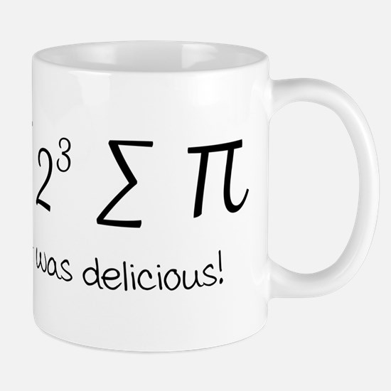 I ate some pie math humor Mugs