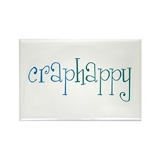 Craphappy Rectangle Magnet