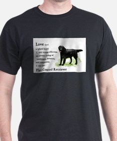 flatcoat love is redo2 T-Shirt