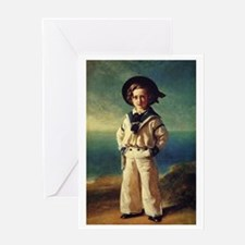 Sailor Boy Greeting Card