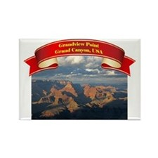 Grandview Point Rectangle Magnet