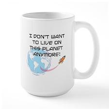 live on planet Ceramic Mugs