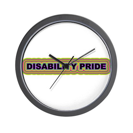 DISABILITY PRIDE Wall Clock