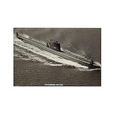 USS DARTER Rectangle Magnet