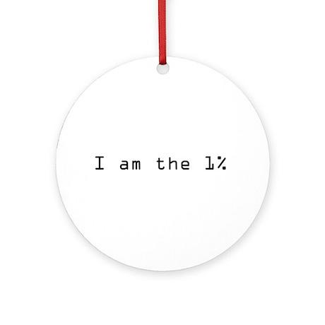 1 percent Ornament (Round)