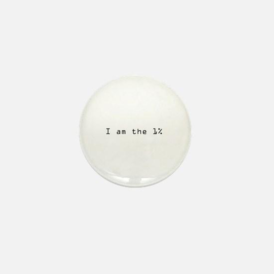 1 percent Mini Button