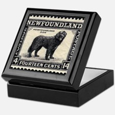 Vintage Newfoundland Postage Keepsake Box