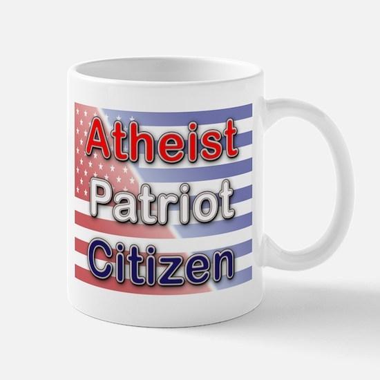 Atheist, Patriot, Citizen Mug