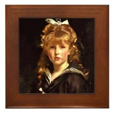 Sailor Suit Framed Tile