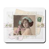 Shabby chic Mouse Pads