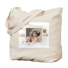 Cottage Chic Collage Tote Bag