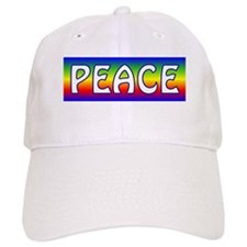 Rainbow Peace Baseball Cap