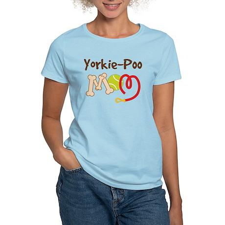 Yorkie-Poo Dog Mom Women's Light T-Shirt