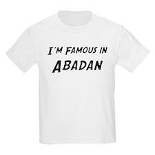 Famous in Abadan Kids T-Shirt