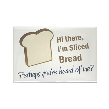Sliced Bread Rectangle Magnet (100 pack)