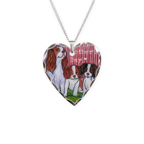 Mothers Day Necklace Heart Charm