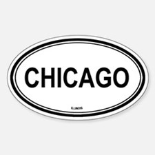 Chicago (Illinois) Oval Decal