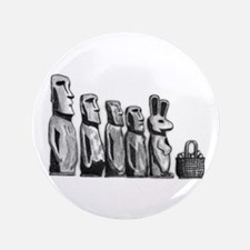 """Easter Island 3.5"""" Button (100 pack)"""