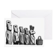 Easter Island Greeting Cards (Pk of 10)