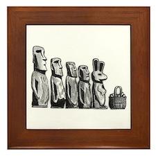 Easter Island Framed Tile